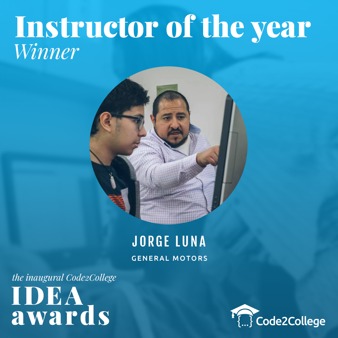 Instructor of the Year WInner